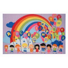 <strong>Fun Rugs</strong> Fun Time Educational Balloons Kids Rug