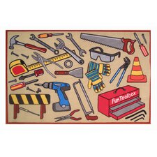 Fun Time Fun Toolbox Kids Rug