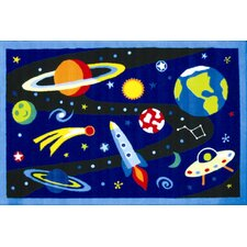 <strong>Fun Rugs</strong> Olive Kids Out of this World Space Kids Rug