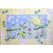 Jade Reynolds Dragonfly Morning Kids Rug
