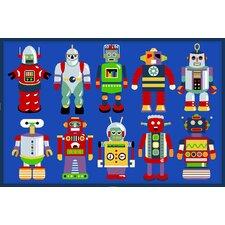 Olive Kids Go Robots Robot Kids Rug
