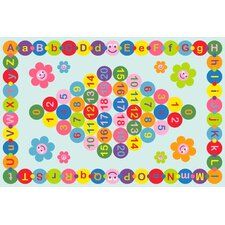 Fun Time Happy Learning Kids Rug