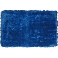 Flokati Dark Blue Kids Rug