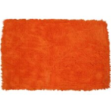 <strong>Fun Rugs</strong> Flokati Orange Kids Rug