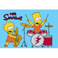 <strong>Fun Rugs</strong> The Simpsons Rock Stars Kids Rug