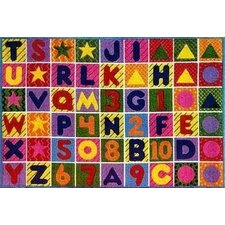 <strong>Fun Rugs</strong> Supreme Numbers and Alphabet Kids Rug