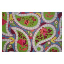 Fun Time Floral Paislies Kids Rug