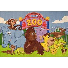 <strong>Fun Rugs</strong> Little Tikes The Zoo Kids Rug
