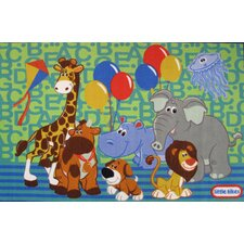 <strong>Fun Rugs</strong> Little Tikes Party Animals Kids Rug