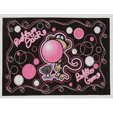 Bobby Jack Don't Burst My Bubble Kids Rug