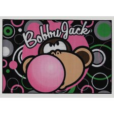 Bobby Jack Bubble Gum Kids Rug