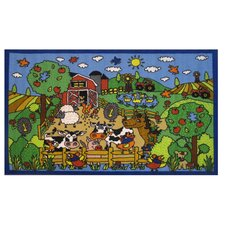 <strong>Fun Rugs</strong> Fun Time Happy Farm Kids Rug