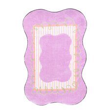 Supreme Scalloped Girls Kids Rug