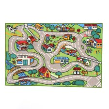 Fun Time Country Road Area Rug