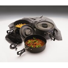 Ice Scouter Hard Anodized QT Cook Set