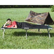 Sleece Sleeping Bag in Black