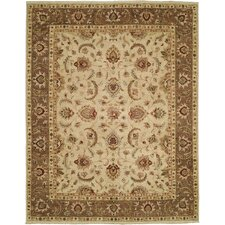 Royal Zeigler Beige/Brown Rug