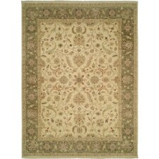 Royal Zeigler Beige/Green Rug