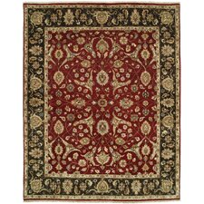 Royal Zeigler Red/Black Rug