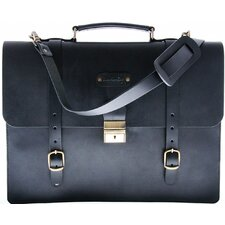 Palermo Saddle Leather Briefcase