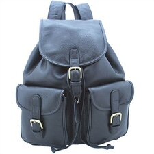 Backpack with Pockets in Black