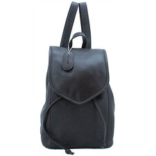 Small Backpack in Dark Chocolate