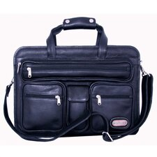 Cambridge Leather Laptop Briefcase