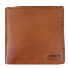 Double Fold Wallet with Coin Pocket in Tan/Natural