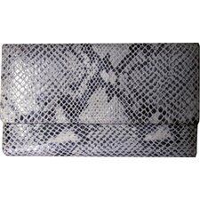 Italian Leather Sleek Clutch / Wallet