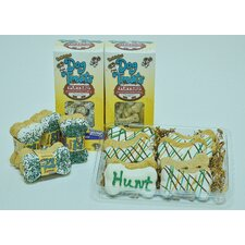 Birthday Gift Set in Blue Dog Treat