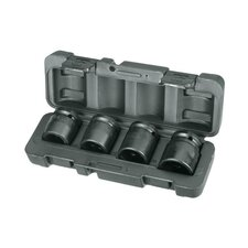4 Piece Truck Impact Socket Set