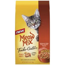 Salmon and Chicken Tender Centers Cat Food