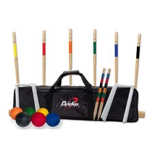 <strong>Baden</strong> Deluxe Combo Croquet Game Set