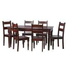 Jaipur Dark Mango 7 Piece Dining Set
