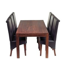 Mango Toko 7 Piece Large Dining Set