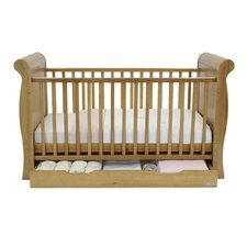 Hollie Cot and Drawer Set in Country Pine