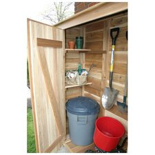 Garden Chalet 4ft. W x 24in. D Wood Lean-To Shed