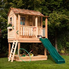 Little Squirt Playhouse with Sandbox