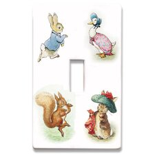 Beatrix Potter Decorative Light Switch Cover - Single Toogle Switch