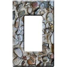 Artitude The Stones Decorative Light Switch Cover - Single Rocker Switch