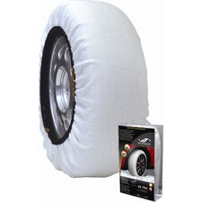 Winter Textile Tire Traction Snow Donut (Set of 2)