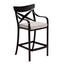 "<strong>Tropitone</strong> Chimaya 30"" Barstool with Cushion"