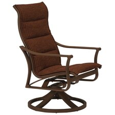 <strong>Tropitone</strong> Corsica Padded Sling High Back Swivel Rocking Chair