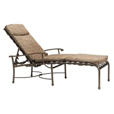 Sorrento Chaise Lounge with Cushion