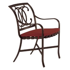Palladian Dining Arm Chair with Cushion