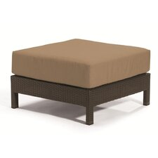 <strong>Tropitone</strong> Evo Ottoman with Cushion