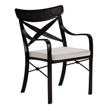 <strong>Tropitone</strong> Chimaya Dining Arm Chair with Cushion