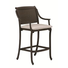 "<strong>Tropitone</strong> BelMar 30"" Barstool with Cushion"