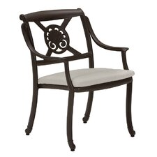 <strong>Tropitone</strong> BelMar Dining Arm Chair with Cushion