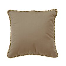 Throw Pillow with Cord Welt